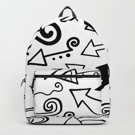 Arrow Doodles Backpack