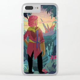 Her World Clear iPhone Case