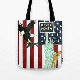 Never Again Tote Bag