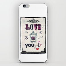 Love = You and I iPhone & iPod Skin
