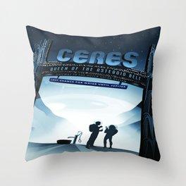 Vintage poster - Ceres Throw Pillow