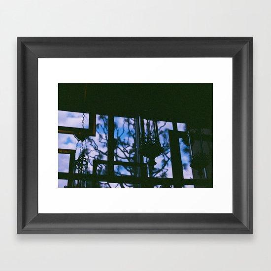 Silhouettes. Framed Art Print