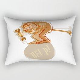 Help monkey Rectangular Pillow