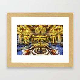 Vincent Van Gogh Palace Framed Art Print