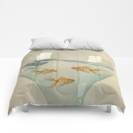 Hour Glass Goldfish Comforters