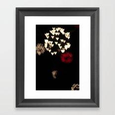 Heart Bloom Framed Art Print