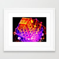 dr who Framed Art Prints featuring Dr Who? by ADJoy