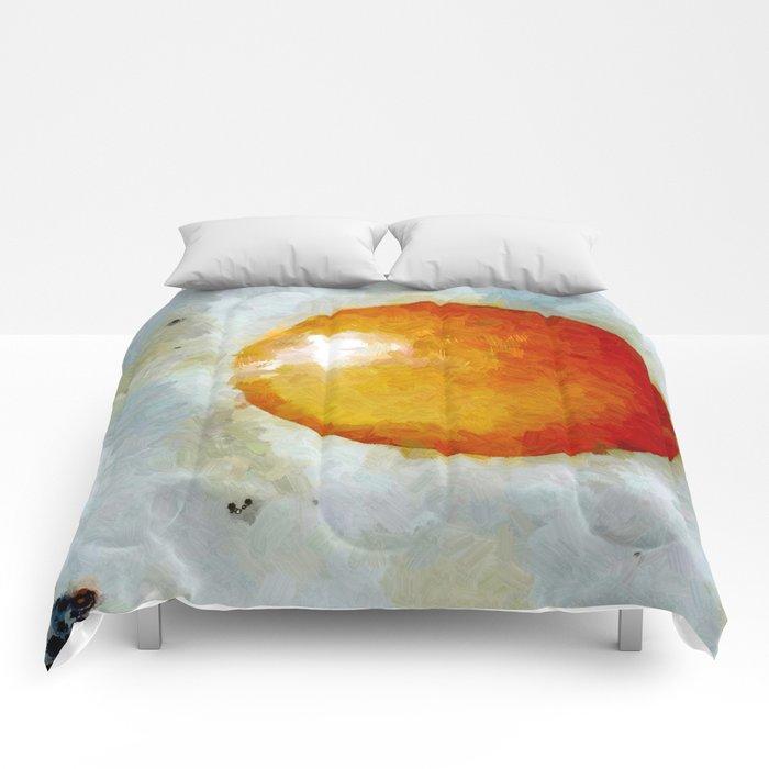 Spiegelei Comforters