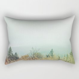 Autumn in the mountains Rectangular Pillow