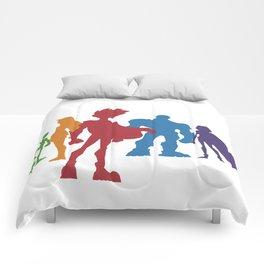 [ Teen Titans ] Robin, Starfire, Raven, Beast Boy and Cyborg Comforters
