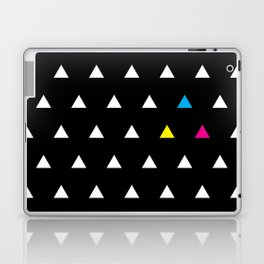 CMYK Triangles Laptop & iPad Skin