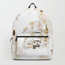Wedding Couple - Dark Hair Option Backpack
