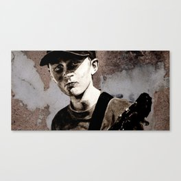 GUITAR BOY - urban ART Canvas Print
