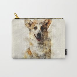 Welsh Corgi Carry-All Pouch