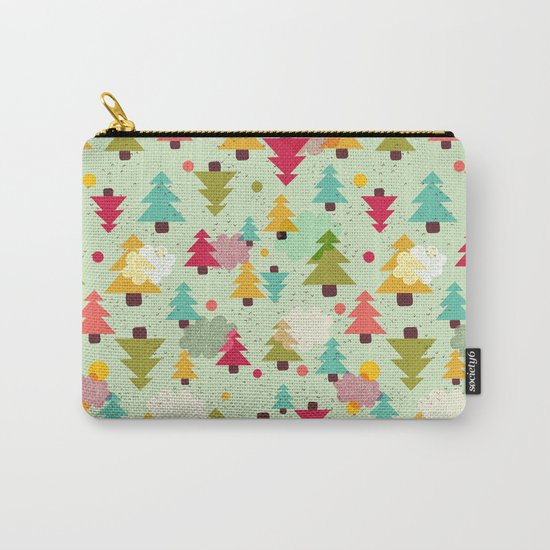 TREES UPSIDE DOWN Carry-All Pouch