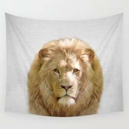 Lion - Colorful Wall Tapestry