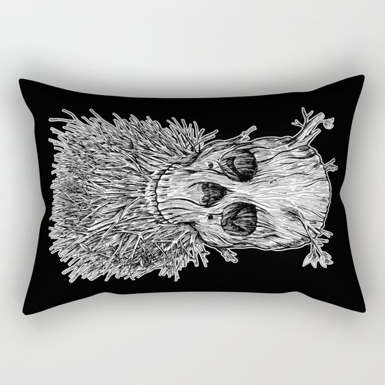 Lumbermancer B/W Rectangular Pillow