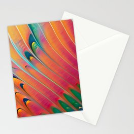 Ski Slope Stationery Cards