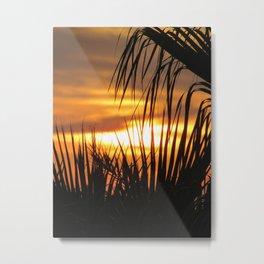 Balearic Sunset Metal Print