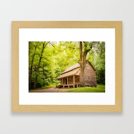 Weekend Getwaway Framed Art Print