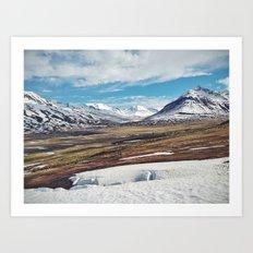 ísland II Art Print
