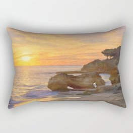 Olhos sunset, Portugal Rectangular Pillow