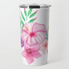Tropical bouquet i Travel Mug