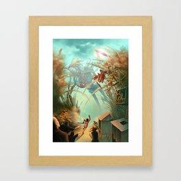 Giants and Healers Framed Art Print