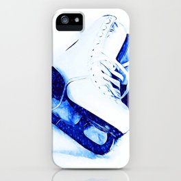 Anyone For Skating? iPhone Case