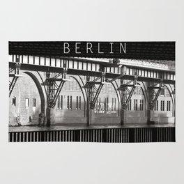 Jannowitzbruecke - Berlin - B&W Rug