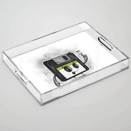 Floppy Disc Dave Acrylic Tray