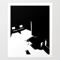 dramatical murder Art Prints featuring Murder by Lasse Westerberg