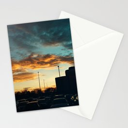 Carrefour Laval at Dusk - II Stationery Cards