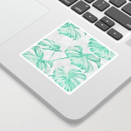 city leaf Sticker
