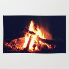Streams of Fire Rug