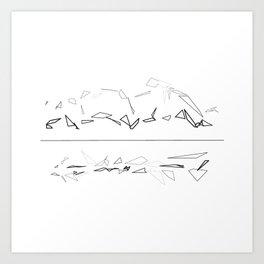 Figure Motion Art Print