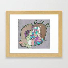 Artificial Love Framed Art Print