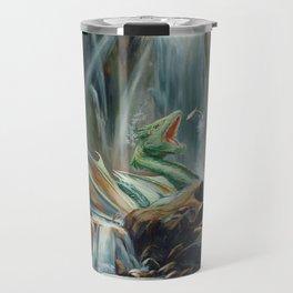 Fishing fantasy dragon Travel Mug