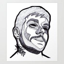 LOUJO. Art Print