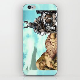 'no mountain is taller than my pride' iPhone Skin