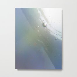 Bubble Light Metal Print
