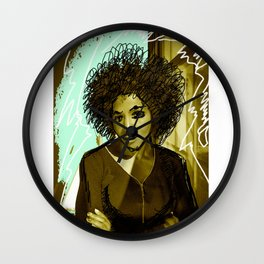 Woman N17 Wall Clock