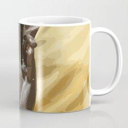 Buddha Hand Illustration Coffee Mug