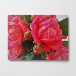Pink Roses WC 2 Metal Print
