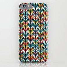 llama leaf arrow chevron dark Slim Case iPhone 6s