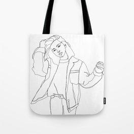 Fashion illustration drawing - Caleb Tote Bag