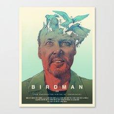Birdman - Alternative Poster Canvas Print