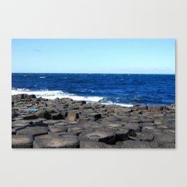 Gigant's Causeway. Antrim Coast. Northern Ireland Canvas Print