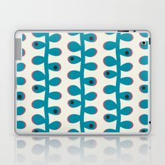 Like a Leaf [blue spots] Laptop & iPad Skin
