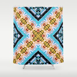 ethnic cross Shower Curtain